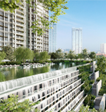 The latest project in DPC – Park Regent is a joint venture between ParkCity and CapitaLand